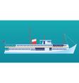Ocean liner vector image