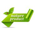 Organic Green Tags vector image vector image