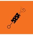 Party petard icon vector image