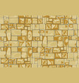 stone wall background seamless vector image