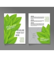 Editable A4 poster for design vector image