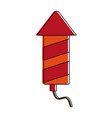 firecracker firework icon image vector image