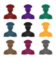 postmanmail and postman single icon in black vector image vector image