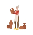 Potter Creative Person vector image vector image