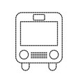 school bus transport children passenger student vector image