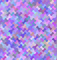 Colorful curved shape mosaic background vector image vector image