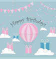 happy birthday cards vector image