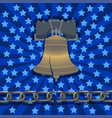 national freedom day liberty bell broken chain vector image vector image