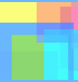 abstract multicolored rectangles and squares vector image