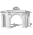 architectural arch vector image