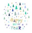 Christmas card109 vector image vector image