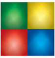 color backgrounds with light beams - set vector image