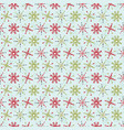 festive holiday and christmas snowflake stripes vector image vector image