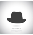 Hat icon vector image vector image