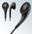 Headphone set vector image vector image