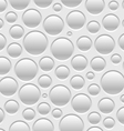 Pattern bubbles vector image
