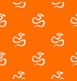python snake pattern seamless vector image vector image