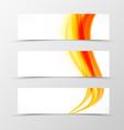 set header banner soft design vector image vector image