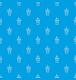 soda pattern seamless blue vector image