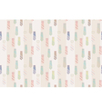Necktie seamless pattern background vector image