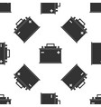 car battery icon seamless pattern vector image vector image