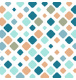 colorful square tile mosaic background vector image