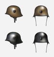 German helmet vector image