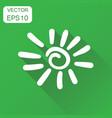 hand drawn sun icon business concept sun vector image vector image