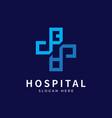 health logo with initial letter ba ab b a logo