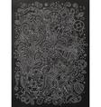 Nautical chalkboard doodle vector image