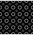 Polka dot geometric seamless pattern 1003 vector image vector image