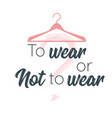 slogan for apparel design vector image vector image