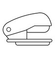 stapler icon outline line style vector image vector image