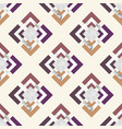 trendy seamless pattern with geometric elements vector image vector image