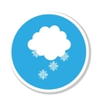 weather symbol isolated icon vector image