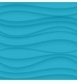 Blue seamless Wavy background texture vector image vector image