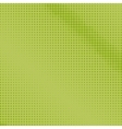 Dots on a Green Background Pop Art Background vector image vector image