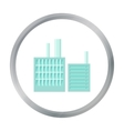 Factory icon of for web and vector image vector image