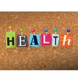Health Concept vector image vector image
