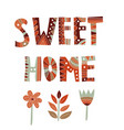 home decoration poster vector image vector image