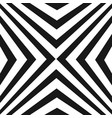pattern with black and white diagonal stripes vector image vector image