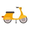 scooter vehicle icon vector image vector image