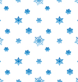 snowflake gradient blue white background vector image vector image