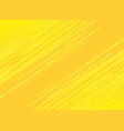 yellow background hatch with halftone effect vector image vector image