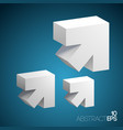 abstract business template vector image
