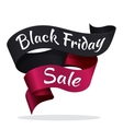 Black Friday tape with text advertisement vector image vector image