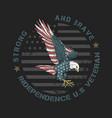 eagle america vector image