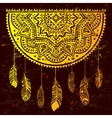 Ethnic American Indian Dream catcher vector image vector image