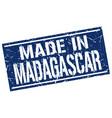 Made in madagascar stamp
