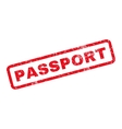 Passport Rubber Stamp vector image vector image